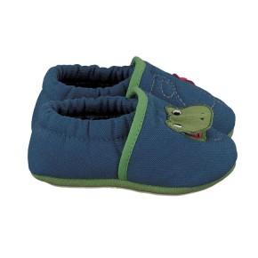 Nanga Frosch Slipper blau 20