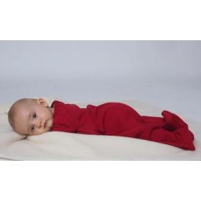Reiff Schlafsack Frottee mit Arm 50/56 natur